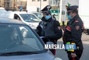 Check Point di controllo Carabinieri in Piazzale Loreto
