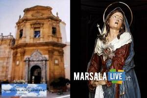 maria santissima addolorata, marsala