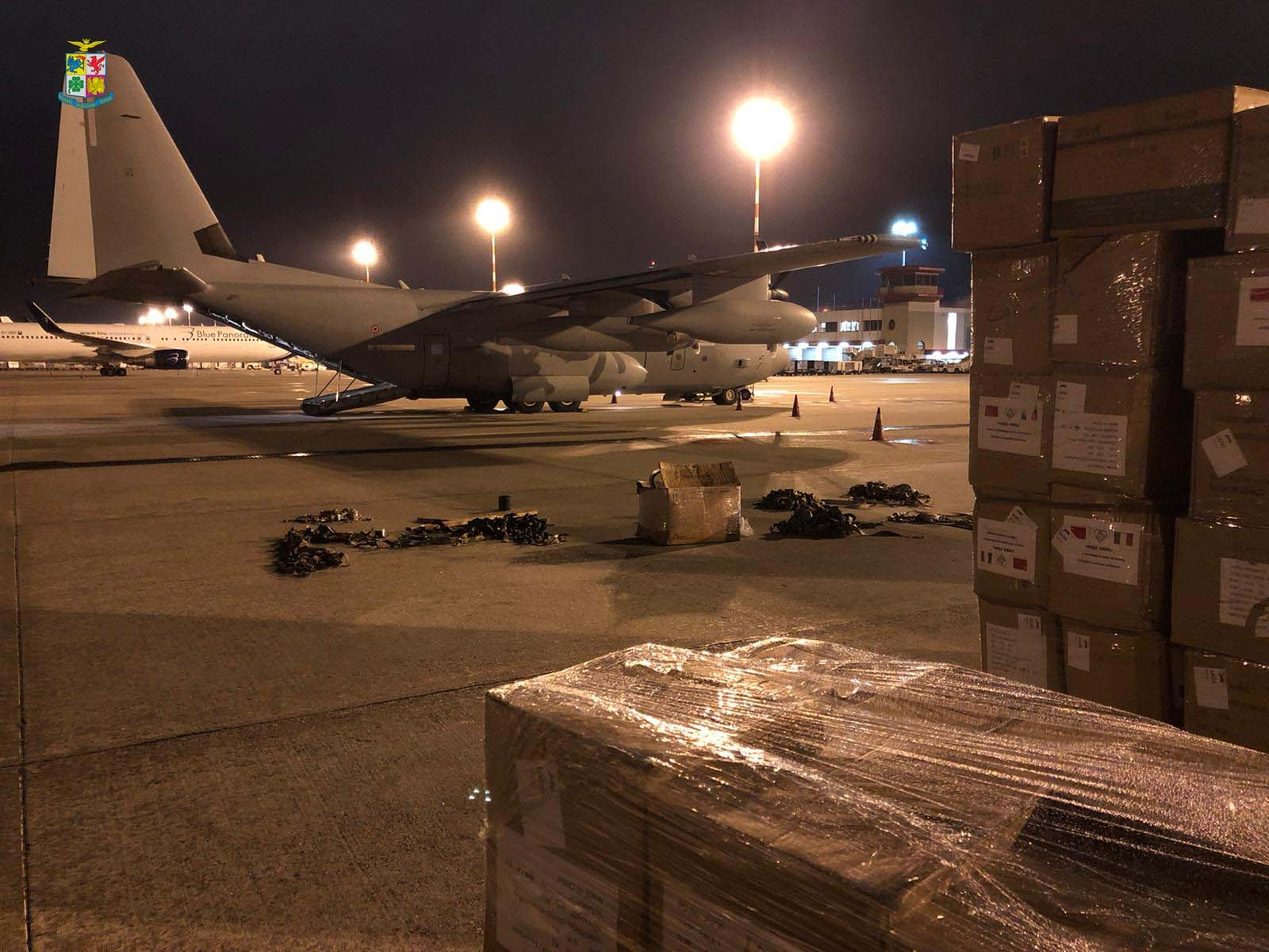 tonnellate materiale sanitario trasportato da velivoli Aeronautica Militare (2)