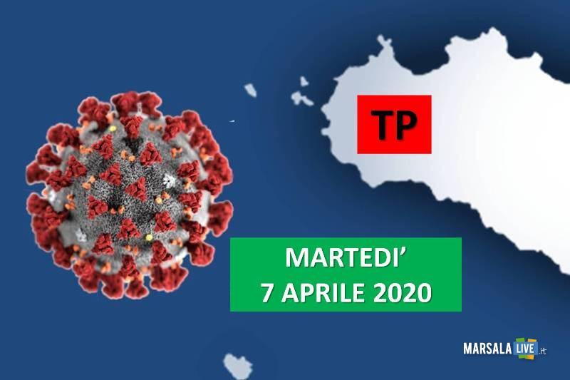 tp, coronavirus, martedì 7 aprile