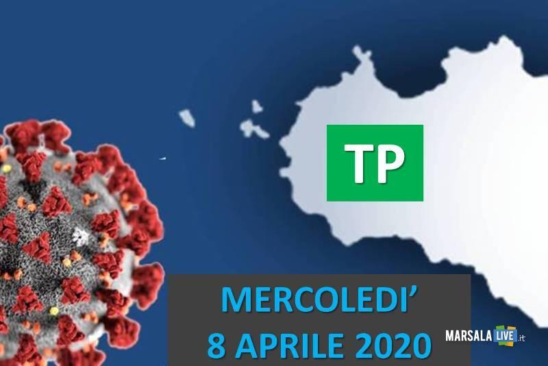 tp, coronavirus, mercoledì 8 aprile