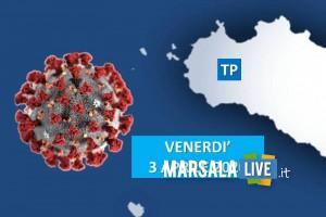 tp, coronavirus, venerdì 3 aprile